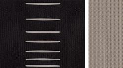 Visiškai juodos / pilkos spalvos audinys