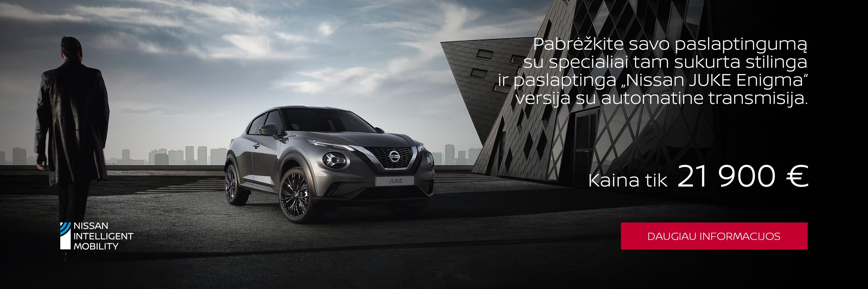 Nissan JUKE specialus pasiūlymas