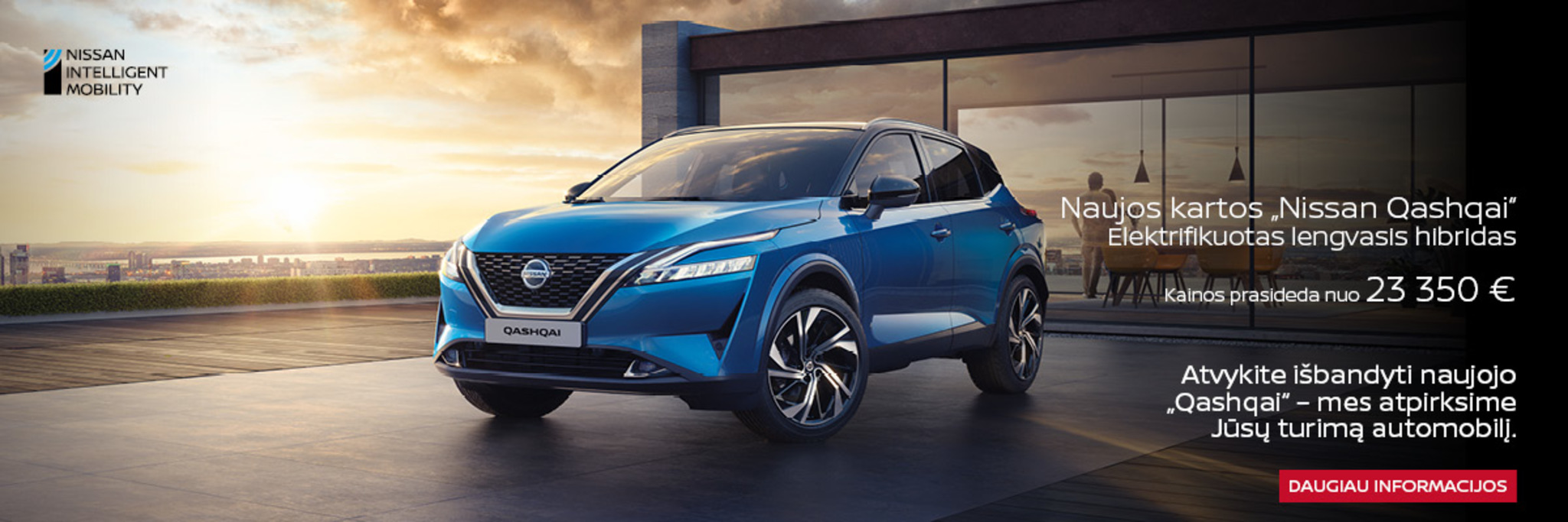 Naujasis Nissan Qashai