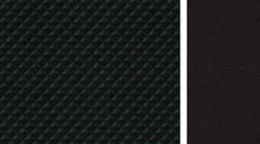 Įprastos juodos spalvos audinys