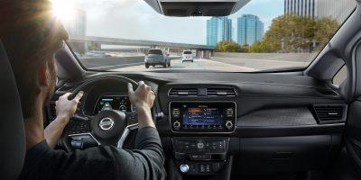 Nissan LEAF modernių technologijų paketas