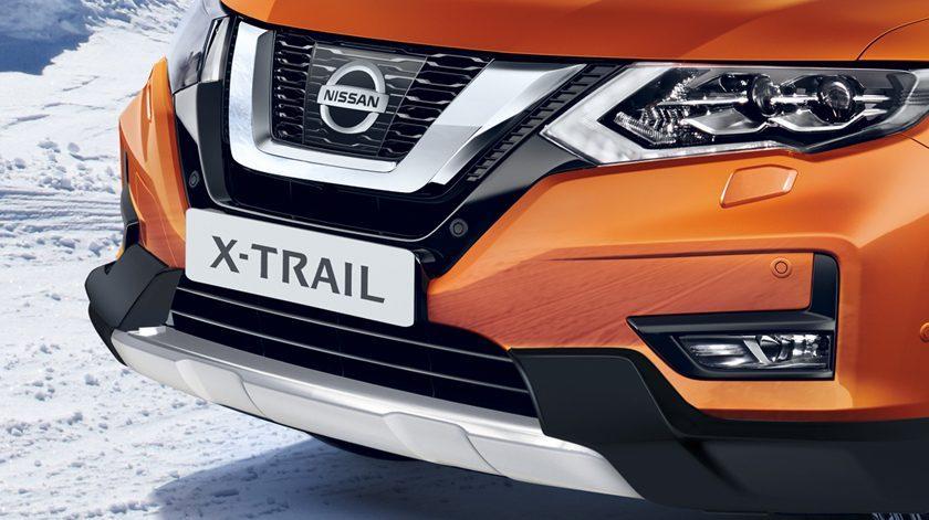 Nissan X-Trail apdailos plokštė fakto ivuana