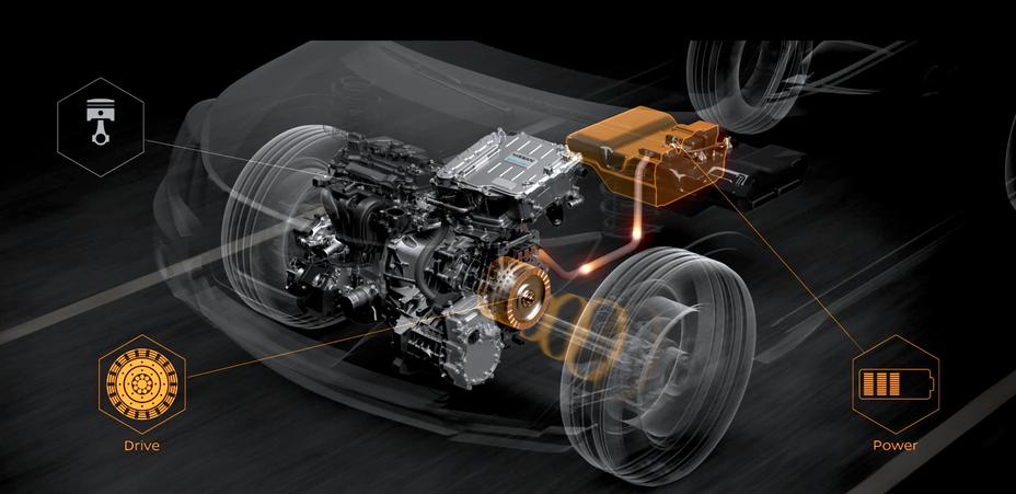 """""""Nissan"""" pristato """"e-POWER"""" modelius Europoje"""